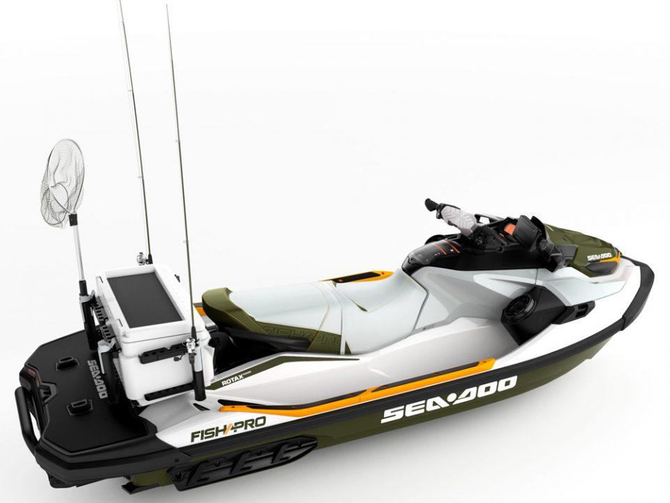 НОВИНКИ BRP 2019 ГОДА: Гидроцикл для рыбаков Sea-Doo Fish Pro