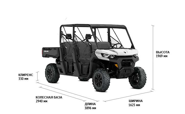 BRP Can-Am Traxter MAX 1000 DPS (2020 м.г.)