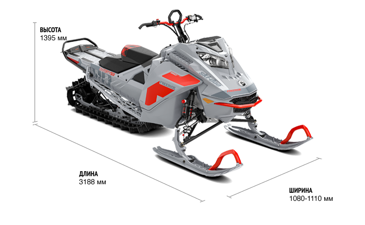 FREERIDE 165 850 E-TEC TURBO SHOT (2021г.)