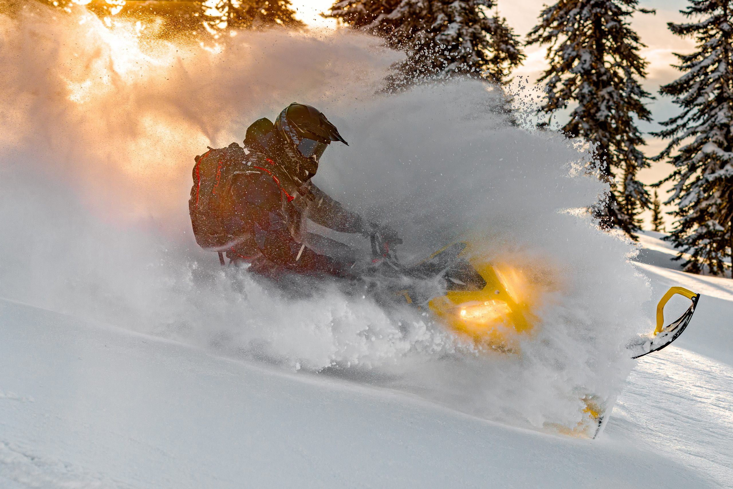 Школа снегоходного катания в Приисковом