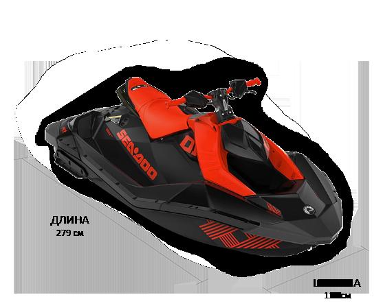 Sea-Doo SPARK 2UP 900 HO IBR TRIXX(2021)