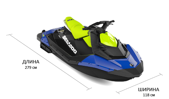 Sea-Doo SPARK 2UP 900 HO IBR (2021)
